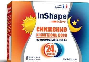 иншейп актив экспресс похудение 60 капсул отзывы